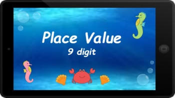 Google Classroom: Interactive 9 Digit Place Value Activity