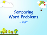 Google Classroom: Interactive Comparing Word Problem Activity