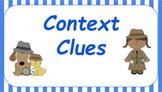 Google Classroom: Interactive Context Clues Activity