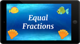 Google Classroom: Interactive Equal Fractions Activity
