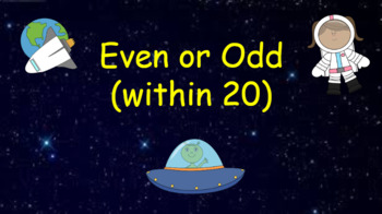 Google Classroom: Interactive Even or Odd (1 digit)