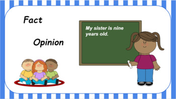 Google Classroom: Interactive Facts and Opinions Activity