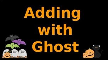 Google Classroom Interactive Ghost Addition Activity- Fall Theme
