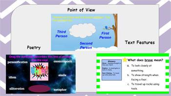 Google Classroom- Interactive Literacy Activities Bundle