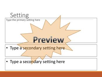 Google Classroom Interactive Literature PPt/Google Slides Journal for Any Novel