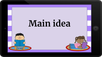 Google Classroom: Interactive Main Idea Activity