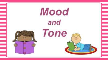 Google Classroom: Interactive Mood and Tone Activity