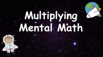 Google Classroom: Interactive Multiplying Activity- Space