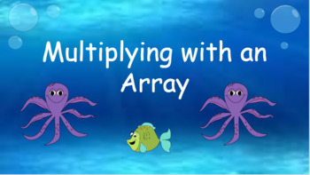Google Classroom: Interactive Multiplying with Array Activity
