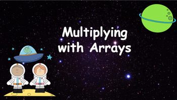 Google Classroom: Interactive Multiplying with Array Activtity