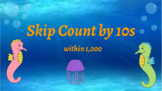 Google Classroom- Interactive Skip Counting by 10s Activity