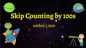 Google Classroom: Interactive Skip counting by 100s Activity