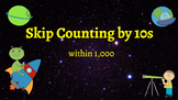 Google Classroom: Interactive Skip counting by 10s Activity