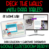 Google Classroom Interactive Slides: Christmas Data Tables