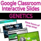 Google Classroom Interactive Slides: Genetics