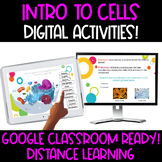 Google Classroom Interactive Slides:  Intro to Cells