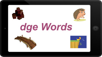 Google Classroom: Interactive dge Word Work Activity