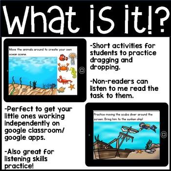 Google Classroom Drag and Drop Introductory Activities (Digital University)