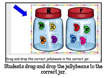 Google Classroom Jellybean Alphabet Match