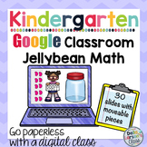 Google Classroom Jellybean Math Counting and Decomposing Numbers with Ten Frames