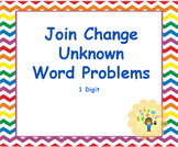Google Classroom: Join Change Unknown Word Problems 1 Digit