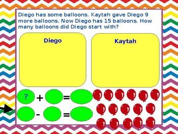 Google Classroom- Join Start Unknown Word Problem 1 digit