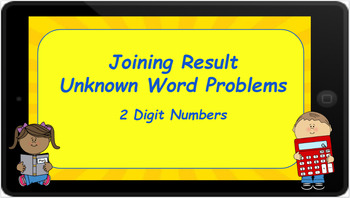 Google Classroom: Joining Result Unknown 2 Digit Word Problems