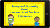 Google Classroom: Joining  and Separating Result Unknown Word Problems (2 Digit)