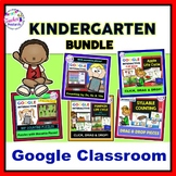 for Google Classroom MATH & LITERACY BUNDLE plus Kindergarten Boom Cards