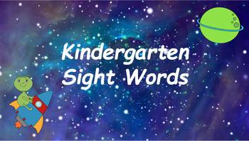 Google Classroom: Kindergarten Sight Words