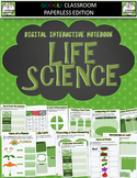 Google Classroom LIFE SCIENCE Digital Notebook