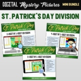 Google Classroom Long Division St. Patrick's Day Digital Math Mystery Pictures