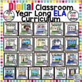 Google Classroom MEGA ELA Year Long Curriculum BUNDLE