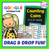 Google Classroom™ MONEY : Counting Coins & Bills
