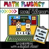 Google Classroom Addition Fluency 1-5