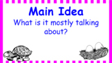 Google Classroom- Main Idea