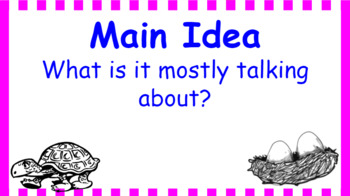 Google Classroom- Main Idea Interactive Activity