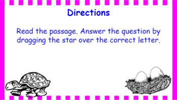 Google Classroom- Main Idea Interactive Activity