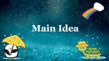 Google Classroom: Main Idea Weather Theme