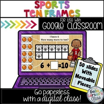 Google Classroom Making Ten - Sports Fun