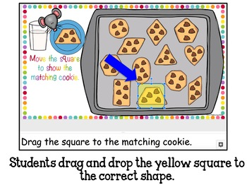 Google Classroom Matching Cookie Shapes