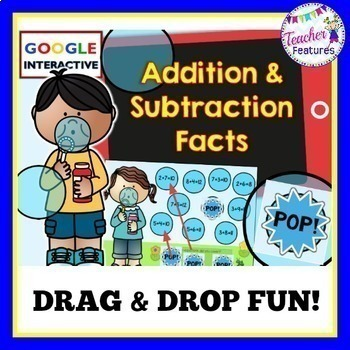 Google Classroom Math: Addition & Subtraction Facts
