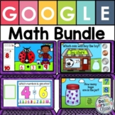 Google Classroom Math Bundle for Kindergarten