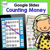 Google Classroom Math Counting Coins & Bills 1st & 2nd Grade