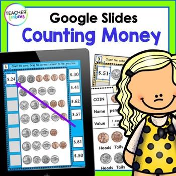 Google Classroom Math: Counting Coins & Bills