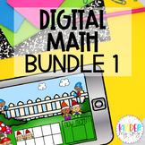 DIGITAL MATH | Google Classroom Math Bundle | Distance Learning