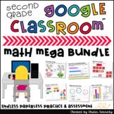 Digital Math Centers & Activities Endless Bundle 2nd Grade