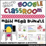 Google Classroom™ Math Mega {ENDLESS} Bundle for 2nd Grade
