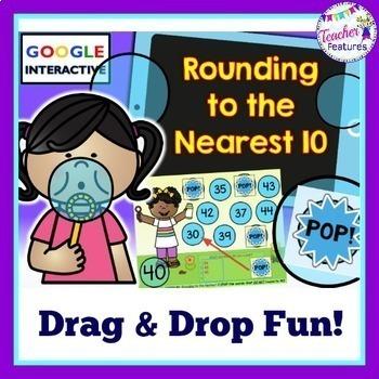 Google Classroom Activities Rounding to the Nearest 10