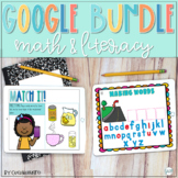 Google Classroom Math and Literacy Bundle